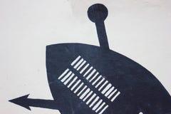 König Of das Zulu& x27; s Lizenzfreies Stockbild