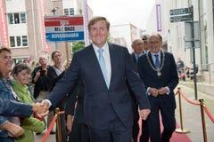 König der Niederlande Stockbild