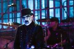 König Diamond auf Metalfest 2013 Stockfotografie