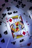 König Of Diamonds Stockbilder
