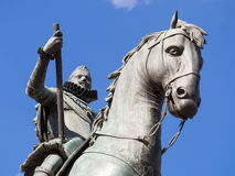 König Felipe III Stockfoto