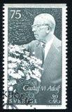 König Gustaf VI Adolf Stockfoto