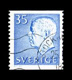 König Gustaf VI Adolf, serie, circa 1962 Stockbild