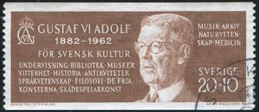 König Gustav VI Adolf Lizenzfreie Stockbilder