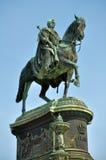 König Johann Sculpture in Dresden Stockfotos