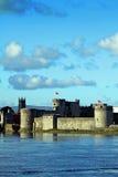 König Johns Castle Limerick Irland Lizenzfreie Stockbilder