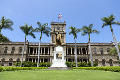 König Kamehameha I Statue Stockfoto