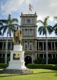 König Kamehameha Statue Lizenzfreie Stockfotos