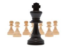 König mit Pfandgegenstand lizenzfreies stockfoto