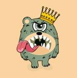 König Monster Lizenzfreies Stockfoto