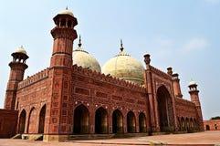 König Mosque Lahore Pakistan Lizenzfreie Stockfotografie