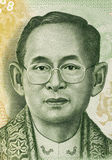 König Rama IX Lizenzfreies Stockfoto