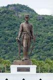 König Rama 4 Phra Chom Klao Chao Yu Hua Rattanakosin eins des großen Königs sieben 7 an Ratchapak-Park, Hua Hin, Thailand stockfoto