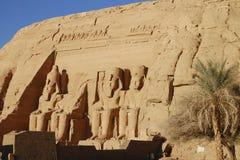 König Ramses II - Abu Simbel Temple - Ägypten Stockbilder