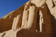 König Ramses II - Abu Simbel Temple - Ägypten Stockfoto