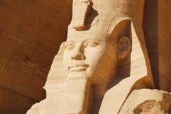 König Ramses II - Abu Simbel Temple - Ägypten Stockbild