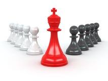 König und Pfandgegenstände. Führung vektor abbildung