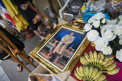KÖNIG VAJIRALONGKORN THAILAND-BANGKOK Lizenzfreies Stockbild