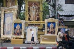 KÖNIG VAJIRALONGKORN THAILAND-BANGKOK Lizenzfreie Stockfotos