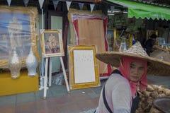 KÖNIG VAJIRALONGKORN THAILAND-BANGKOK Stockbilder