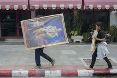 KÖNIG VAJIRALONGKORN THAILAND-BANGKOK Stockbild