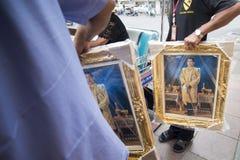 KÖNIG VAJIRALONGKORN THAILAND-BANGKOK Stockfoto
