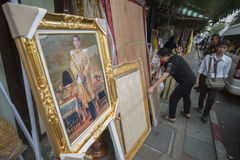 KÖNIG VAJIRALONGKORN THAILAND-BANGKOK Stockfotos