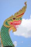 König von Nagas auf dem Himmel Stockfotografie