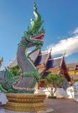 König von Nagas bei Thailand stockfotos