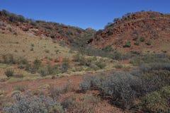 Könige Canyon im Nordterritorium Australien lizenzfreies stockbild