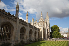 Könige College Cambridge stockfotografie