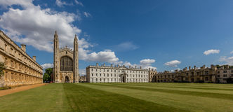Könige College, Cambridge Stockbilder