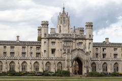 Könige College Cambridge England Lizenzfreies Stockbild