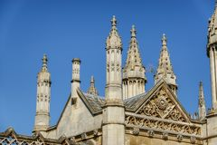 Könige College Chapel Cambridge Stockfotografie
