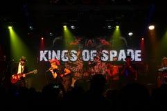 Könige des Spatens spielt auf Stadium an MOTOWN-VALENTINSGRÜSSEN 5 Stockbilder