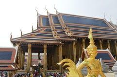 KÖNIGE PALACE BUILDING IN BANGKOK THAILAND Lizenzfreies Stockbild