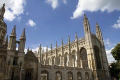 Könighochschulkapelle Cambridge Lizenzfreies Stockfoto