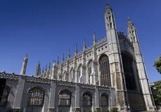Könighochschulkapelle Cambridge Stockbilder