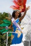 Königin des Sommers carnaval lizenzfreies stockbild