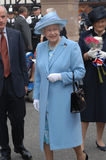 Königin Elizabeth II Stockfotografie
