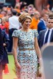 Königin MÃ ¡ xima der Niederlande, König ` s Tag 2014, Amstelveen, die Niederlande stockbilder