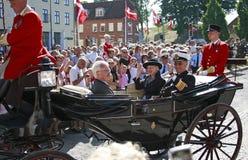 Königin Margrethe II von Dänemark Lizenzfreies Stockfoto