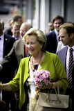 Königin Paola von Belgien lizenzfreie stockbilder