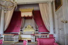 Königin-Schlafzimmer Stockfotos