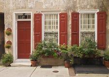 Königin-Straßen-Haus Lizenzfreies Stockfoto