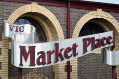 Königin Victoria Market - Melbourne stockfotografie