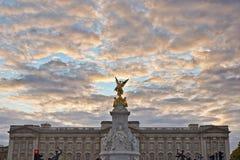 Königin Victoria Memorial in London, England Lizenzfreie Stockfotos