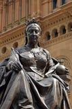 Königin Victoria Statue in Sydney City Australia Stockfotos