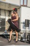 Königin von Herzen Chick Meet Stockfotografie