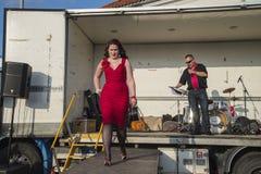 Königin von Herzen Chick Meet Lizenzfreie Stockfotografie